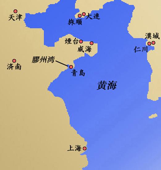 日露戦争用語集 (2)地名