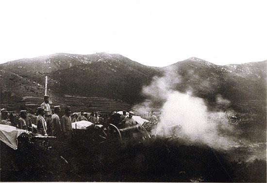 陸上の戦い(解説を読む) 第1次旅順総攻撃 | 日露戦争特別展2